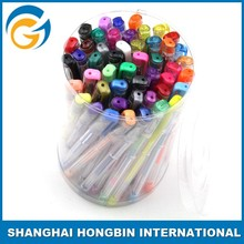Colorful Design with 100 Gel Pen Set Different Type Color
