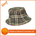 wholesale winter cotton fabric fashion design bucket hat