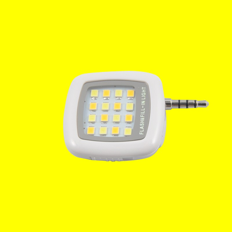 Factory supply compatible cell phone 16 led flash light for iphone huawei