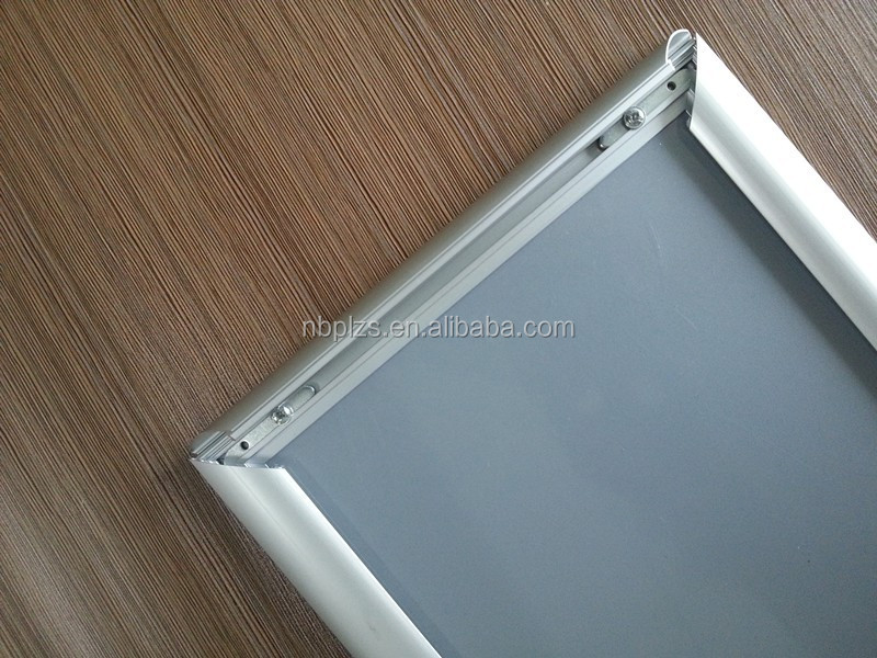 Porta vasos signo complemento clip a3 marco de aluminio mitrado ...