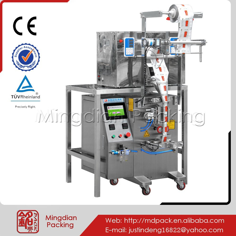 MD-DC16 middle sealing plastic tea bag packing machine
