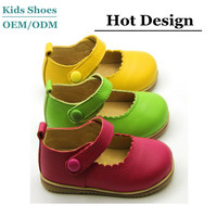 Toddler Baby Girl Shoes kids Mary Jane flats dress Genuine Leather Girl Party Shoes