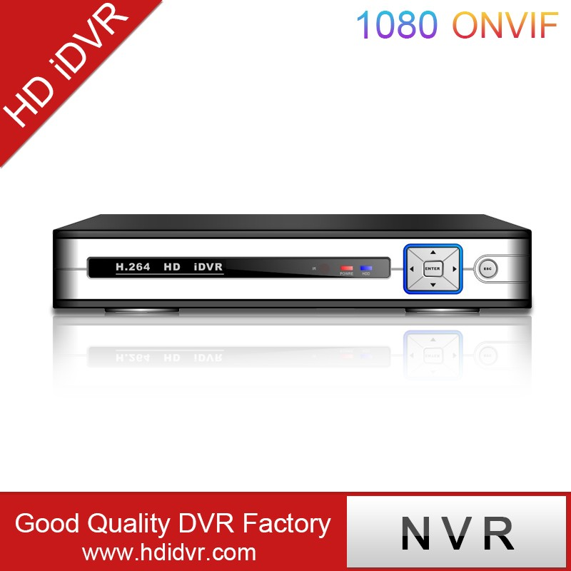 HD DVR ip dvr poe 16 ch face recognition NVR nvr recording