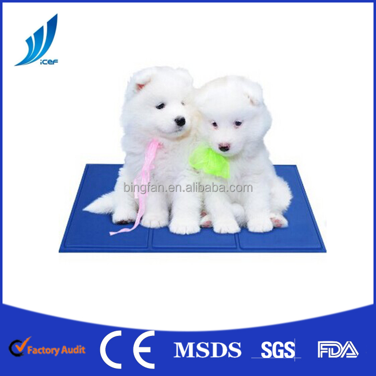 Gel Cooling Pad Pet Dog Cat Sponge Cool Mat