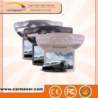 12 inch led light bars roof mount brackets tft lcd flip down dvd with USB/SD/FM/IR/Wireless game