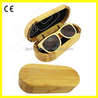 2015 china wholesale wooden sunglasses boxes and bamboo glasses case with high quality