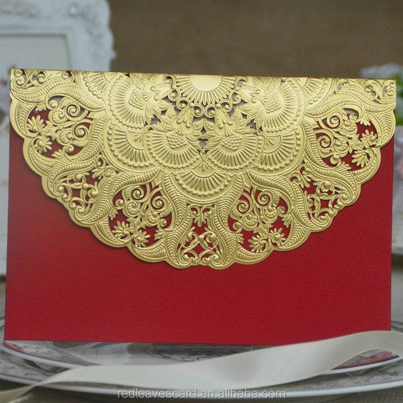 New creative souvenir gift english writings birthday invitation cards