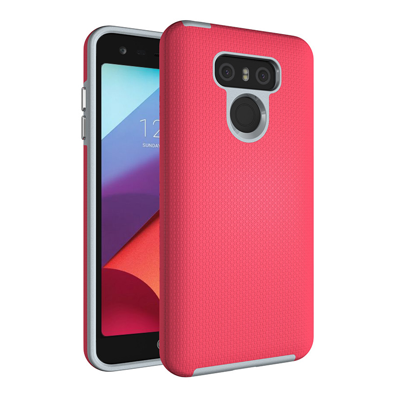 Colorful Fresh Skidproof Armor Hybrid PC TPU Rugged Phone Case For LG G6