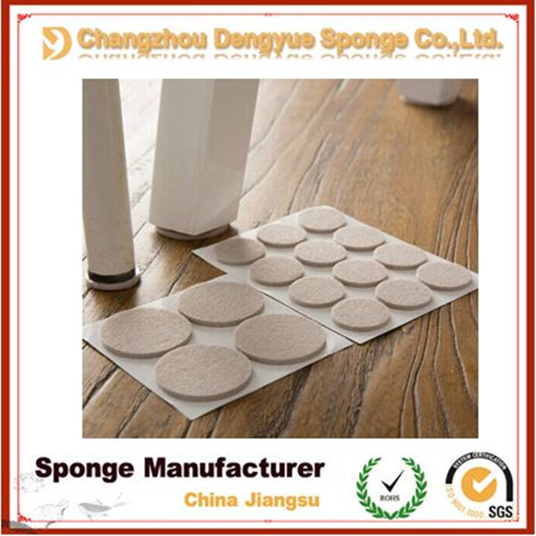 Chair Leg Floor Protection, Rubber Foam Outdoor Furniture Foot Pad