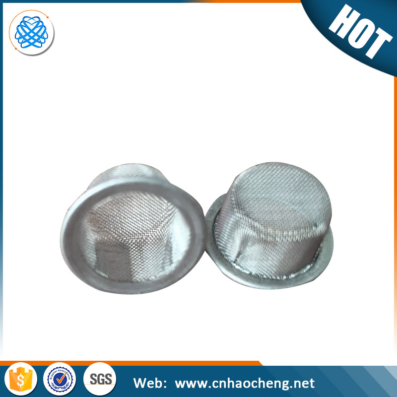10 15 mm diameter stainless steel concave smoking mesh filter screen for tobacco