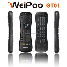 High Quality AAA Battery Air fly Mouse And Mini Wireless Keyboard 2.4ghz Remote Control