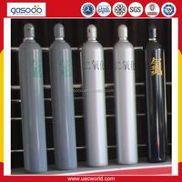 40L argon High Pressure Bottle for Empty Gas Cylinder