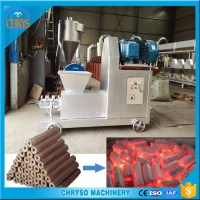 charcoal briquette extruder machine/sugarcane bagasse charcoal briquette machine/rice husk charcoal making