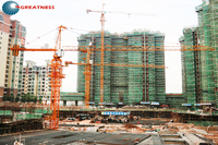 building construction tower crane/chinese tower crane/Hammerhead Tower Crane