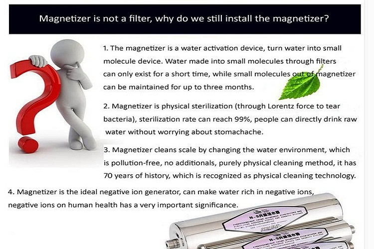 Magnet driven treatment magnet devices magnetic water softener VR-WS-D-2833