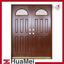Fiber glass door Wood grain texture SMC door