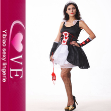 Good Feedback Warm Halloween Costumes Hot Sale Long Dress Halloween Costumes Latex Discount Sexy Halloween Costumes