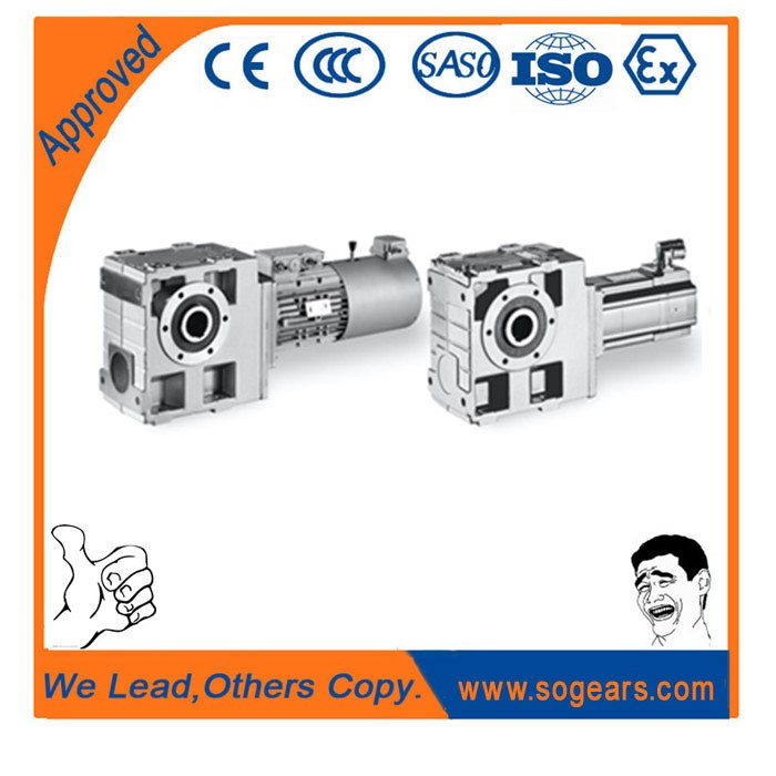 High strength compact dimension and special customized electric vehicle gearbox