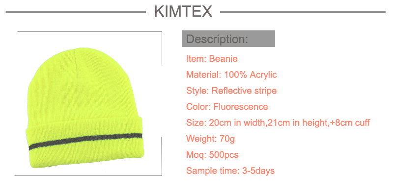 Promotion New Design Fashion Simple Winter Knitted Hat