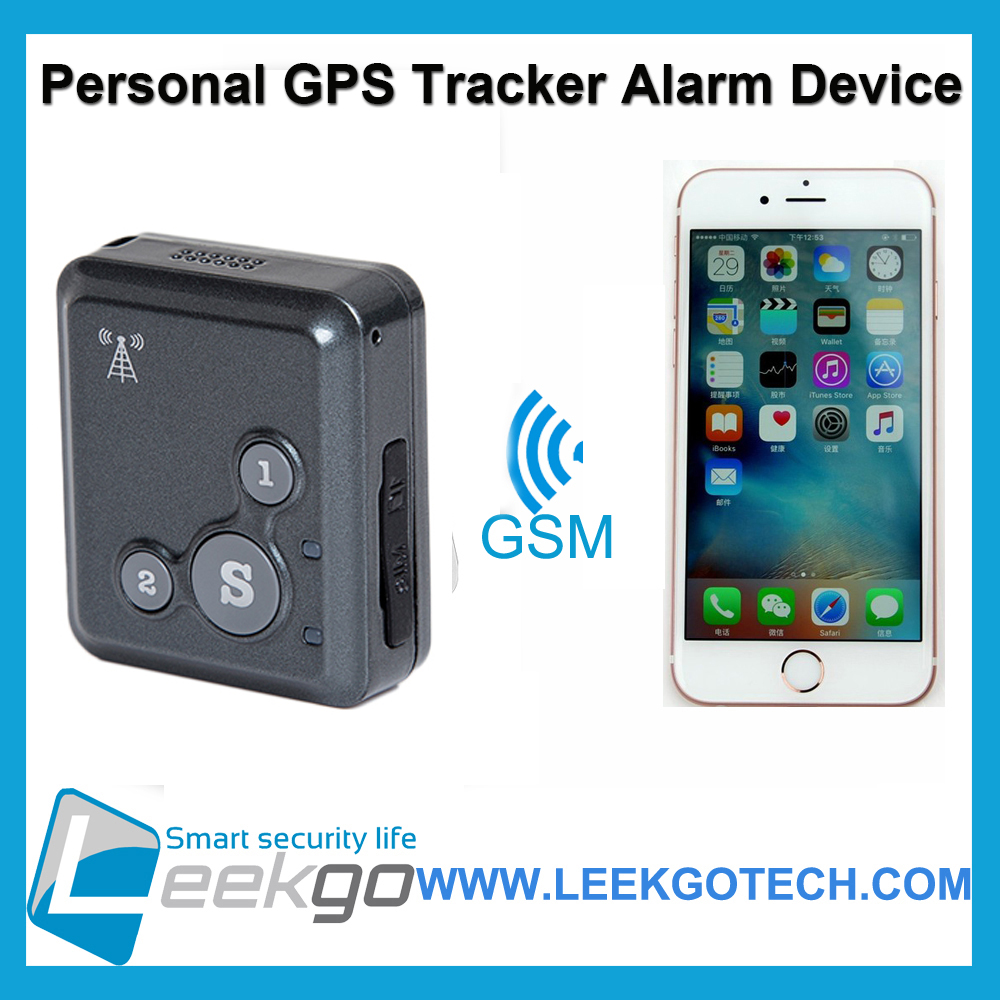 iOS Android APP Personal Mini sos gps tracker Alarm device for Children or Elders