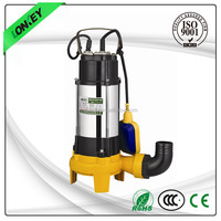 OEM 100% copper wire 2 inches submersible well cutter sewage pump with CE certificated