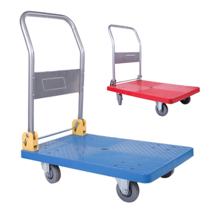 Wildly used best price of push cart flatbed folding push cart