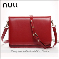 Wholesale price shoulder strap leather crossbody bag for young girls