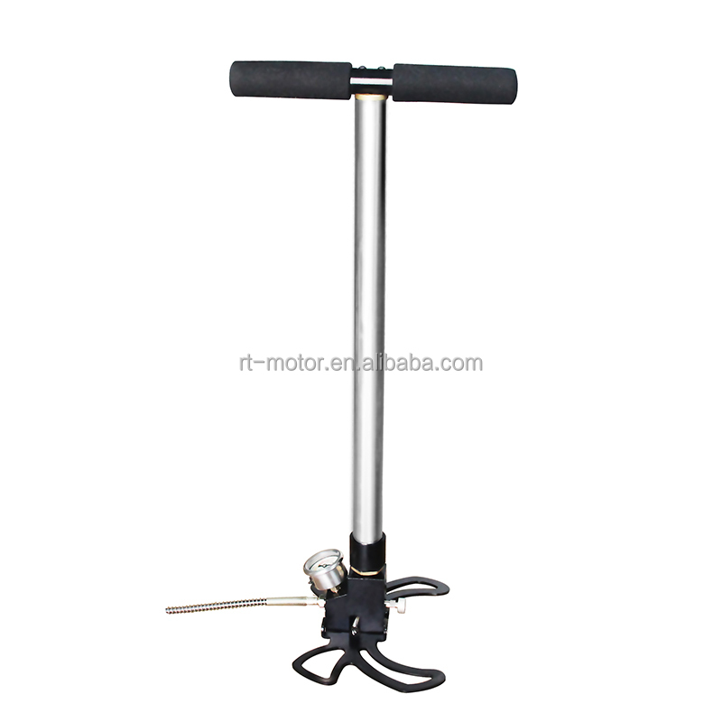 4500psi high pressure pcp air gun hunting pcp hand pump in china