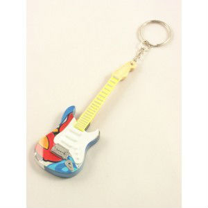 LLaveros a guitarra Exclusive / Miniature guitar: guitar magnet Exclsuive