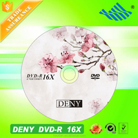 Raw material factory direct price dvd-r blank