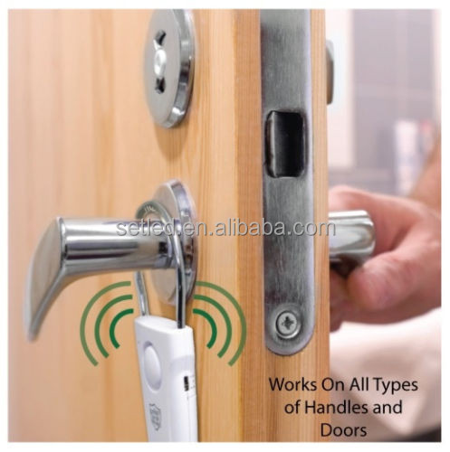 Vibration Sensor Door Knob Alarm Door Security