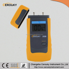 LCD intelligent digital speedy paper gsm moisture tester 2GB