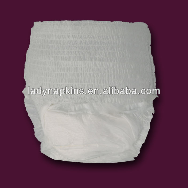 Disposable soft and dry adult diaper