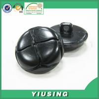 custom large fancy leather coat buttons for clothing