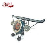 BSCI high quality iron paper and acrylic cover craft clock 1 100 scale model aircraft for sitting room