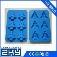 Custom microwave silicone cake mould silicone chocolate mold for christmas
