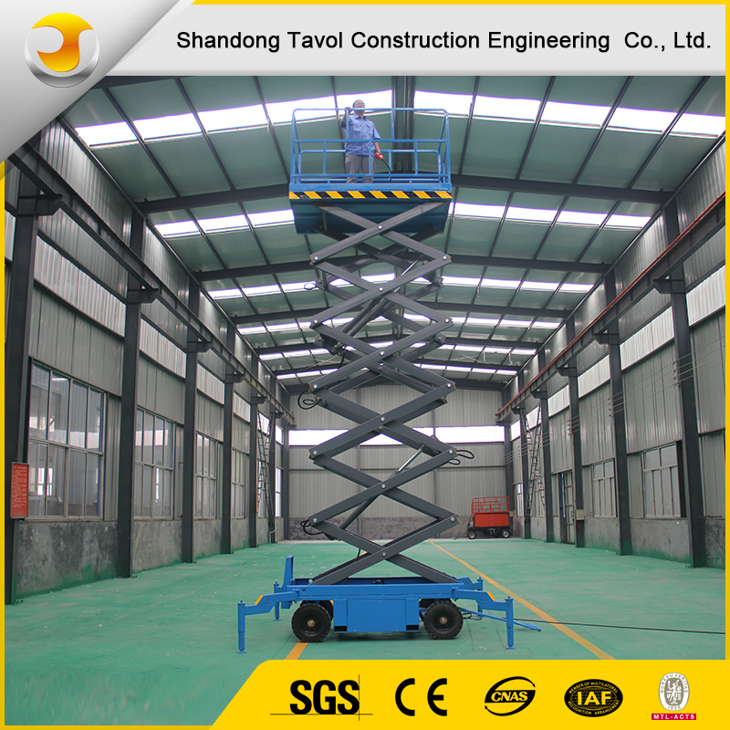SJY good quality hydraulic lift mechanism of mobile scissor lift platfrom