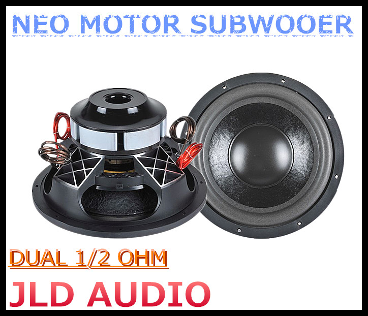 Neo Magnet subwoofer for cars 10 inch spl subwoofer with 2500w RMS speaker
