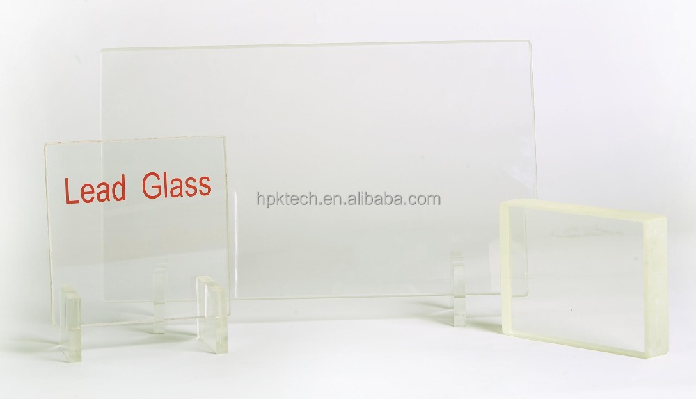Size customized!!! X ray lead glass/x-ray protective lead anti-radiation glass