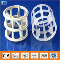 Plastic Ralu ring for tower filling