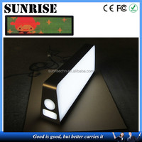 Sunrise waterproof high resolution best quality top sale car led taxi roof advertising light box LED car roof advertising box