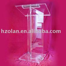 Acrylic podium stand church lectern