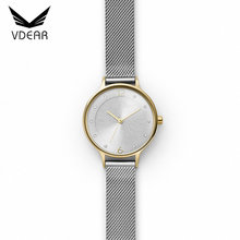Luxury custom watch logo stainless steel 316L diamond quartz japan movt ladies watch