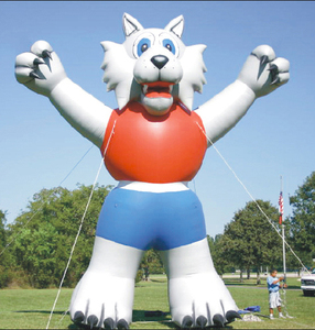 inflatable fox mascot/ advertising inflatable fox