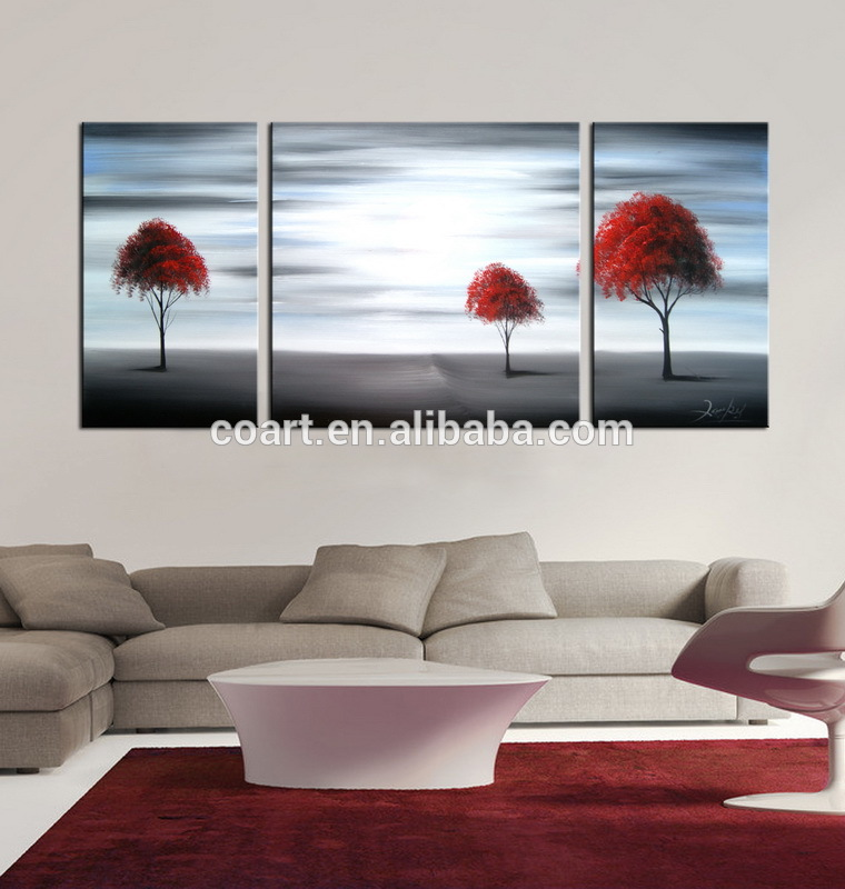 100% Hand Painted Abstract Wall Art Canvas Oil Painting For Home Decoration