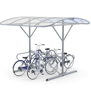 Cheap Bicycle Shelter Street Furniture Outdoor Rain Car Shelter for Workshop Sale