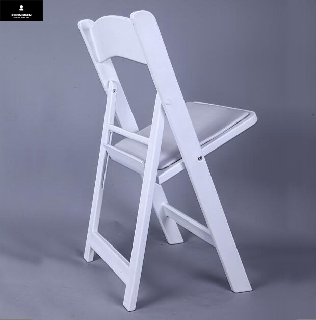 Wholesale common used wedding resin folding chairs for sale