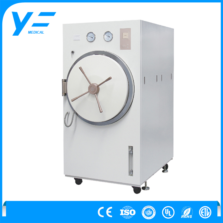 11KVA 100L Floor Type Pulsation Ultraviolet Vacuum Steam Autoclave Sterilizer For Home Use