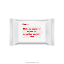 Make up remover wipes for sensitive and dry skin