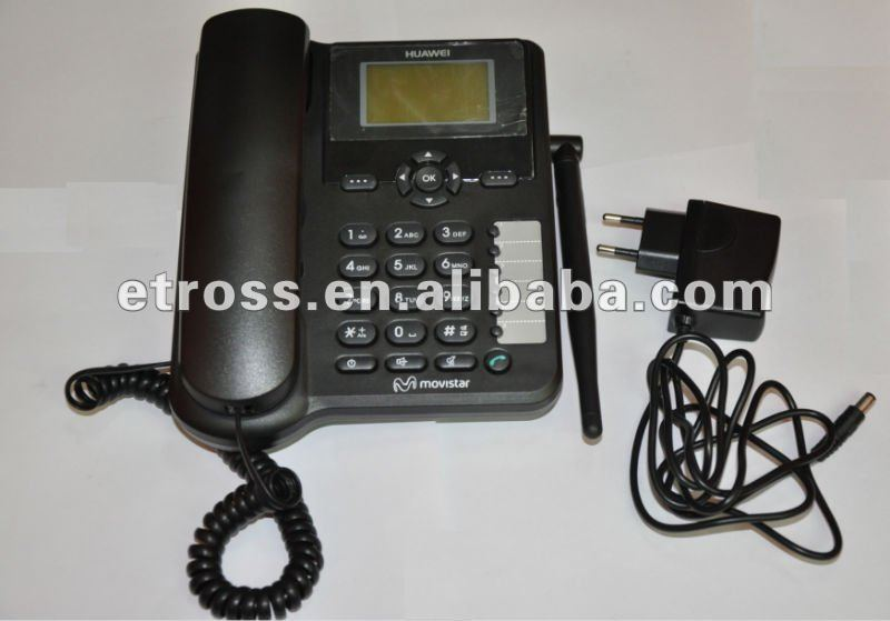 HUAWEI ETS6630,2G&3G Fixed Wireless Phone/ desktop phone, Spanish / Finnish Language )Optional